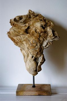 Driftwood Sculpture Mother Nature Creation Modern by MarzaShop, $75.00