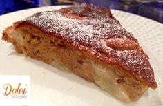 Torta Senza Burro Pere e Zenzero - Dolci Senza Burro