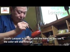 "JAPAN Urushi Lacquered traditional crafts |Rock cup MOMO ""KINTAI REI URU..."