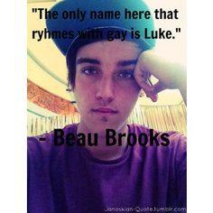 beau brooks <3 brotherly love (; lol