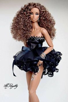 Our wood-based barbie dolls residence collection has got a range of different styles and amount, our wooden barbie dolls houses are delightfully illustrated thoroughly. Barbie Fashionista, Barbie Style, Barbie Dress, Barbie Clothes, Fashion Royalty Dolls, Fashion Dolls, Fashion Sewing, Barbie Mode, Diva Dolls