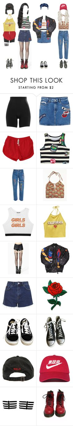 """""""Music Bank: comeback stage ∴ River City"""" by outline-official ❤ liked on Polyvore featuring SPANX, MANGO, Chicnova Fashion, Free People, Minga, Wet Seal, House of Holland, Been Trill, Topshop and Vans"""