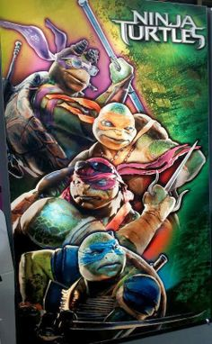 Me So Nerdy: First Ninja Turtles Teaser Poster Leaks to the Web