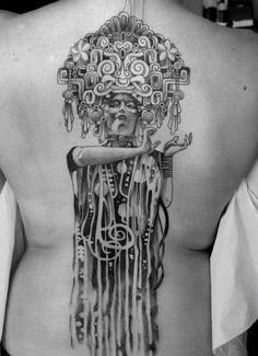 10+ Gustav Klimt Tattoos To Show Your Artistic Side
