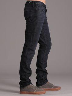 Dark jeans. Earnest Sewn - kyrre slim taper, 380 enzo