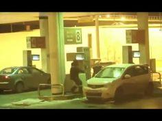 Boob video washing windshield 4