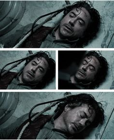 OMG, this scene was awful!  My shoulder always hurts for the rest of the movie after this! The hook scene - Sherlock Holmes: A Game of Shadows