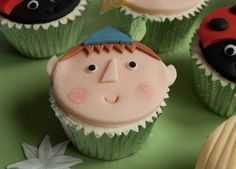 Ben cupcake - Ben and Holly's Little Kingdom