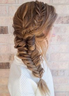 awesome 20 Fishtail Braid Hairstyles that will Make You Look Cuter