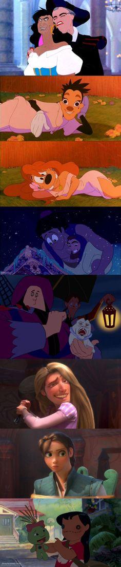Disney face swaps can be so awkward
