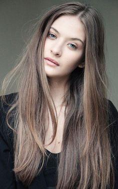 Natural Light Ash Brown Hair More