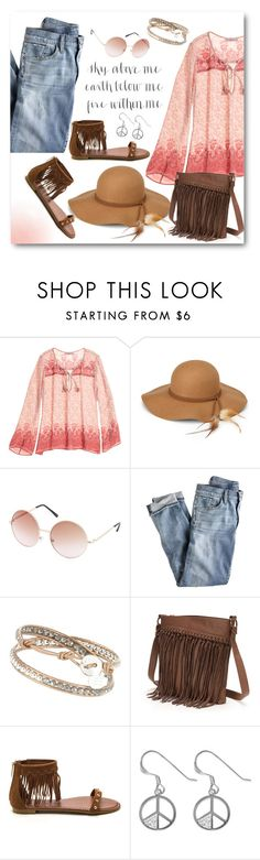 """Sky Above Me"" by brendariley-1 ❤ liked on Polyvore featuring Calypso St. Barth, Steve Madden, Charlotte Russe, J.Crew, SONOMA Goods for Life and Sterling"