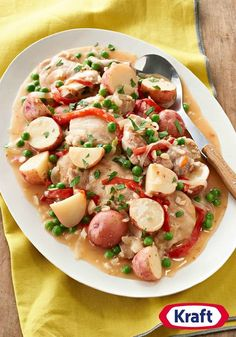 Slow-Cooker Chicken Vesuvio – Try our tasty take on classic Chicken Vesuvio. This one's slow-cooker simple—and terrific to come home to!