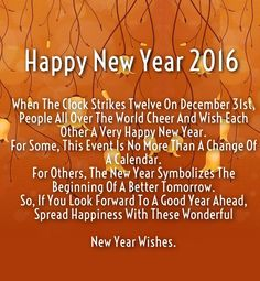 2016 new years wishes | Happy New Year 2016 Love Quotes to Wish Her / Him