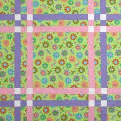 Free Beginner Baby Quilt Pattern | cross by pie plate patterns this baby quilt is a great beginner quilt ...