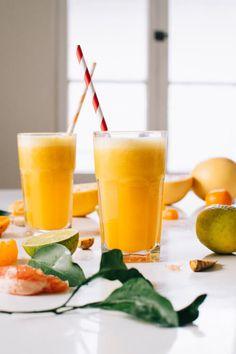 Paleo Citrus Turmeric Rever Upper Juice Recipe Paleo Breakfast Smoothie Recipes