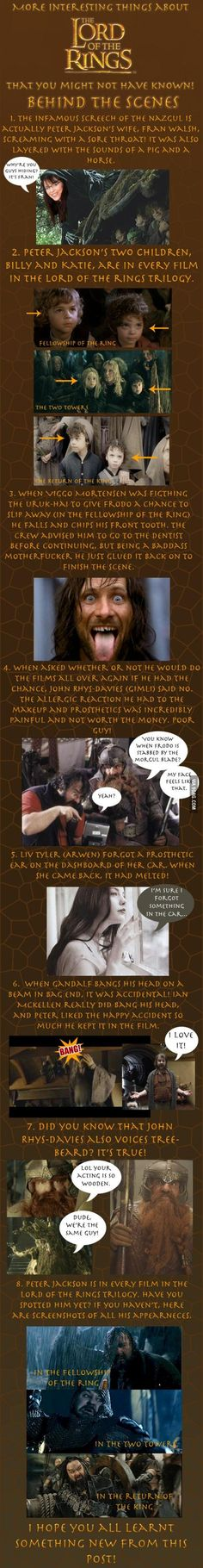 Some facts about the Lord of the Rings