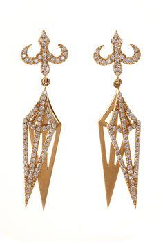Chandelier earrings-House of Waris