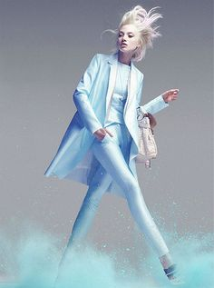 {fashion inspiration | editorial: a study in pastel} | Flickr - Photo Sharing!