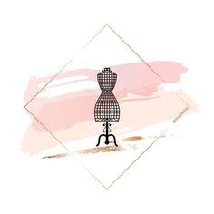 Story Instagram, Instagram Logo, Instagram Design, Clothing Logo Design, Fashion Logo Design, Fond Design, Instagram Symbols, Boutique Logo, Floral Logo