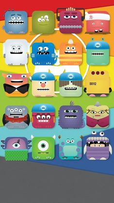 So cute! Love this movie! Monsters Inc. iPhone 5 icon skin