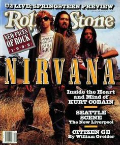 Classic Rolling Stone Magazine Covers | Classic Rolling Stone covers -nirvana