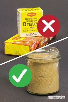 Wer braucht schon künstliche Aromen und andere Zusatzstoffe – mit diesem einfac… Who needs artificial flavors and other additives – with this simple recipe you can easily make your own stirring powder for dark sauces. Pasta Sauce With Fresh Tomatoes, Breakfast Pictures, Diy Snacks, Snack Video, Party Buffet, Dehydrator Recipes, Pampered Chef, Kitchen Gifts, Diy Food