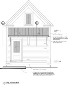 Old farmhouse renovation Garage Exterior, Exterior Trim, Soffit Ideas, Interior Columns, Farmhouse Renovation, Roof Detail, Moldings And Trim, Craftsman Bungalows, Home Additions
