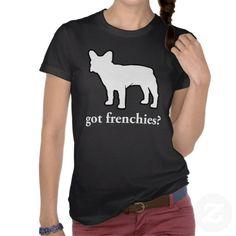 frenchies | frenchies obtidos? camiseta de Zazzle.com.br