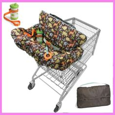 Activity & Gear Practical 2017 Popular Fashion High Quanlity Baby Shopping Cart Cover Anti Dirty Baby Safety Seats Striped Nylon For Outdoor Kids Chair Goods Of Every Description Are Available Mother & Kids