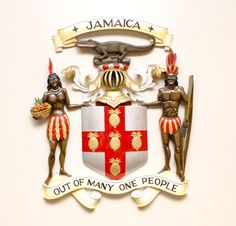 Jamaica's National Coat of Arms