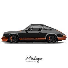 "Porsche 911. Classics in modern processing. The basis - @Porsche ""277"" by @magnuswalker. Wheels - #Mclaren. #olegmarkaryan #carartist #carart #cardrawing #automotive #automotivearts #carinstagram #cargram #carposters #speedhunters #wheels #rims #porsche #porschelove #porscheclub #porsche911 #porsche912 #porscheclassic #myvision #design #black by oleg_markaryan"