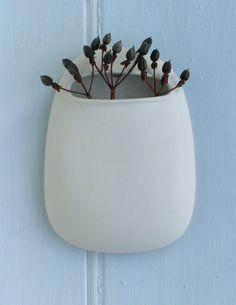 lovely pod wall vase