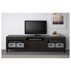 BESTÅ TV bench - white stained oak effect/Selsviken high-gloss/white frosted glass, drawer runner, soft-closing - IKEA At Home Furniture Store, Modern Home Furniture, Affordable Furniture, Outdoor Furniture, Tv Banco, Besta Tv Bank, Ikea Family, Drawer Runners, Drawer Fronts