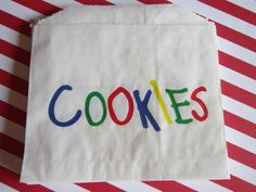 25 Cookie Primary Color Bakery Favor Bags by DKDeleKtables on Etsy, $3.00