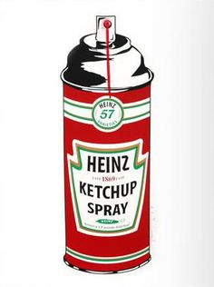 Mr. Brainwash: Ketchup Spray
