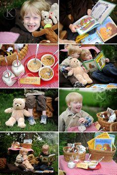 História livro Cachinhos dourados festa ursinhos
