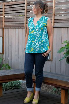 McCall's 7094: bird on a whim tunic by no time to sew