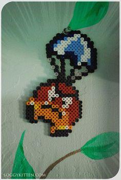 Para-Goomba : Super Mario World SNES Perler Bead par Soggykitten