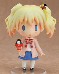"Crunchyroll - Good Smile Releases Nendoroid Alice Cartelet from ""Kinmoza! Manga, Alice, Anime Figurines, Mode Shop, Anime Dolls, Cute Japanese, Good Smile, Kawaii Cute, Biscuit"