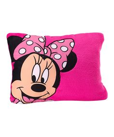 ccb54948967d Look at this Minnie Pillow on  zulily today! Minnie Mouse