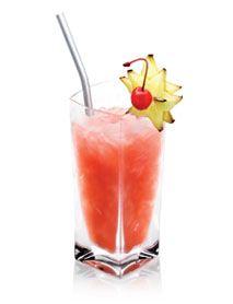 Italian Breeze        1 part Disaronno Amaretto      1 part White rum      2 parts Pineapple juice      2 parts Cranberry juice