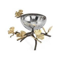 Michael Aram - Butterfly Ginkgo Nut Dish - Buy Online at LuxDeco £195 nuts / olives