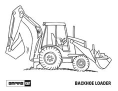 Machinery Coloring Pages & Desktop Image Downloads | Empire Cat