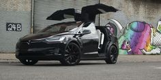 Tesla S Silly Falcon Wing Doors Have One Great Function Elon Musk Admits The Tesla Model X . Volvo Suv, Bmw Suv, Tesla Model X, New Tesla, Luxury Crossovers, Suv Models, Crossover Suv