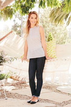 the perfect summer outfit {by LC Lauren Conrad for Kohl's}