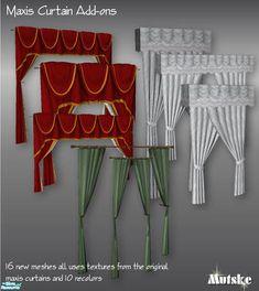 mutske's Maxis Curtains add-ons