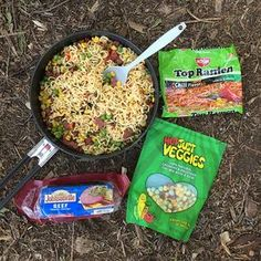 Two of my favorite backpacking meals that use ramen as a base. Super easy, fast and satisfying! Learn a few tricks that will help you improve your trail food taste, prep and clean up.