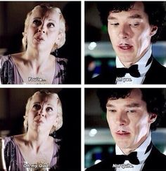 Sherlock is ALMOST god... But not quite.