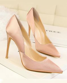 b455be11eec Leather Pointed Toes Slip On Pumps Sexy Shoes Pink. Seamido. Pointy Toes  Stiletto High Heels Pumps Slip On Party Shoes